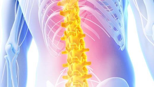 Schmerzen  und Entzündungen behandeln; Medizinische Massage