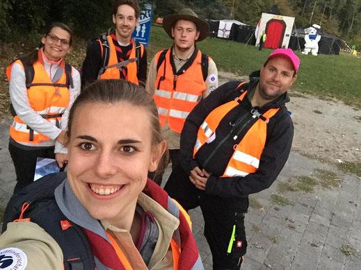 Teilnehmer am Ironscout aus St. Josef Haßlinghausen