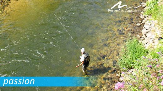 Pêche passion dans les Pyrénées Audoises
