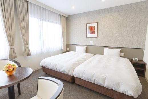 ホテルアマービレ舞鶴のツインルーム
