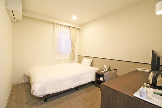 ホテルアマービレ舞鶴のシングルルーム