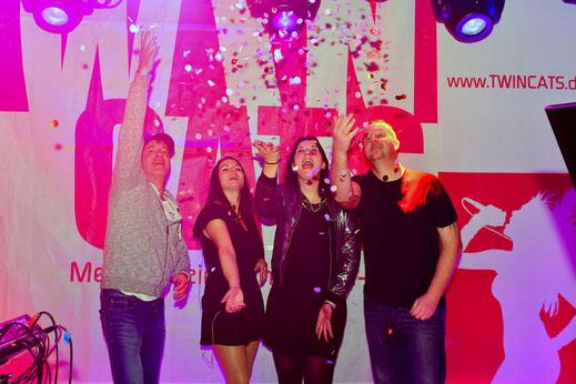 Die Partyband für alle Festzelte, Partys, Weinfeste, Straßenfeste, Betriebsfeiern, ....