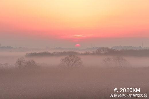 画像:2020/12/11 高見台からの夜明け