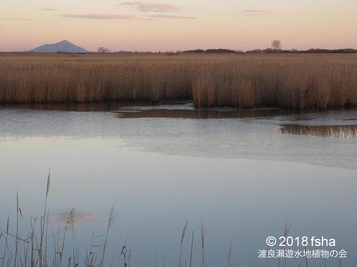 画像:2018/01/06 第1調節池の夕景