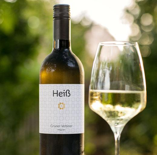 Weingut Heiß - Grüner Veltliner Wagram mit Glas