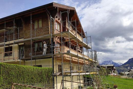 Renovation Mehrfamilienhaus Zeneggen