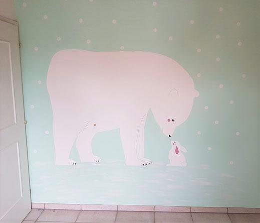 Kinderzimmer Wandgestaltung Objekt: Weisslingen ZH