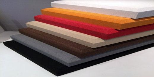 Die Absorber sind in sieben Farbvarianten erhältlich.