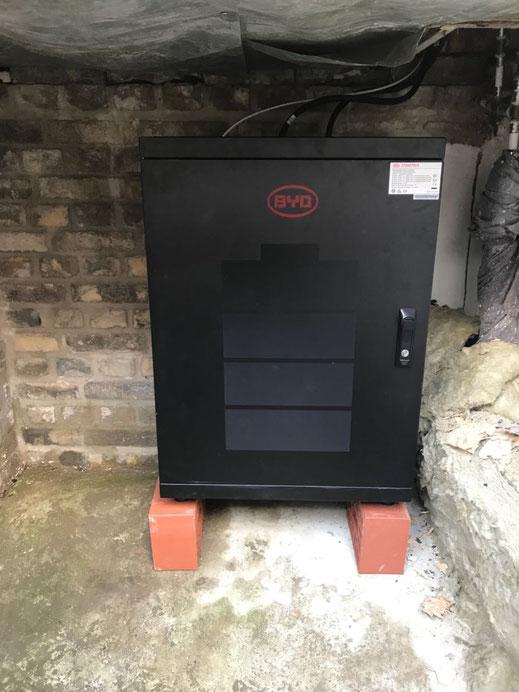 BYD Speicher für 5,13 kWp in Bramsche