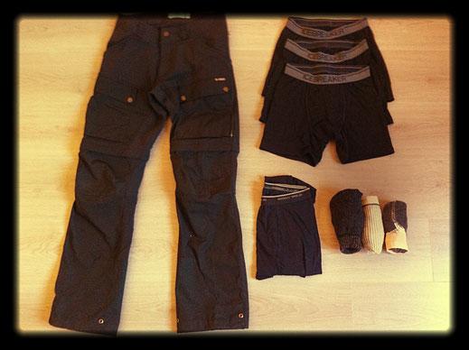 vêtements pour la randonnée