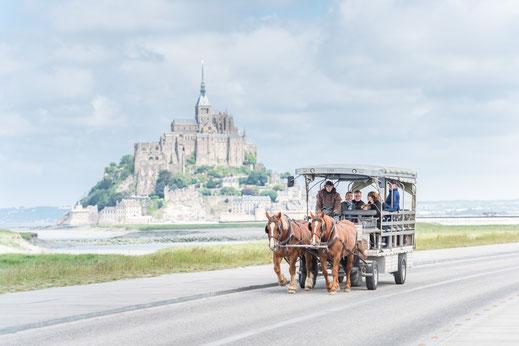 Le Mont-Saint-Michel Normandie Frankreich Wandern Urlaub Camping Bretange Pferde Reisebericht Urlaubsbericht