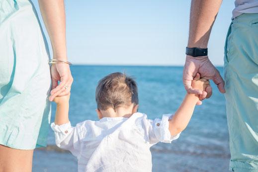 photos famille plage montpellier