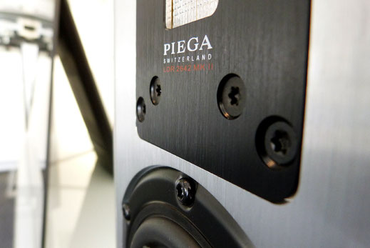 Piega Premium 3 mit LDR Bändchen Sony KD65 A1 OLED TV