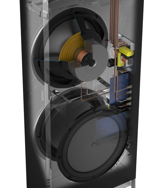 Subwoofer Aktivsubwoofer Passivmembrane Intelligent Bass Control