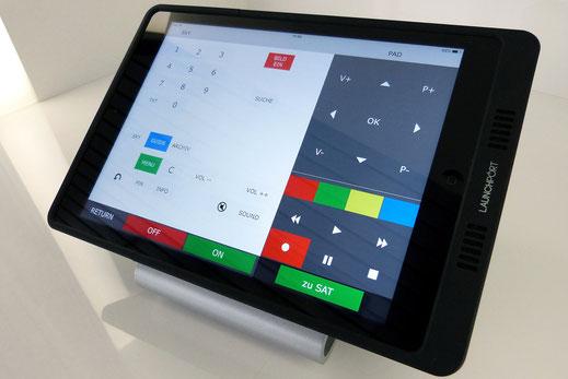 ipad als Touchpanel und Fernbedienung