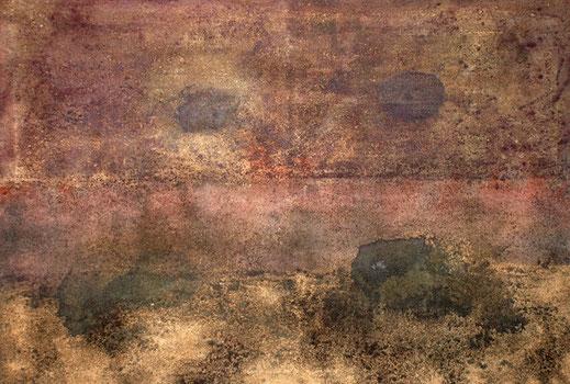 Amador Vallina: Los Ojos de Marte, 2004, 110 x 163 cm