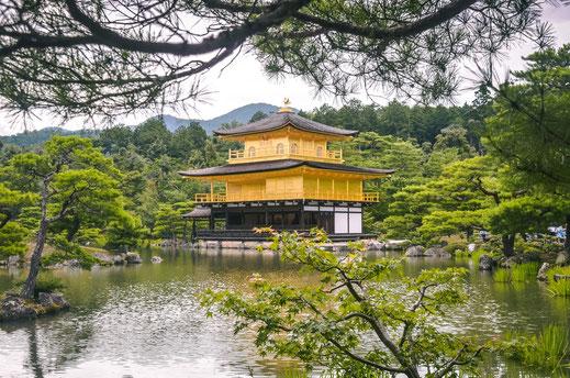 Kikaku_Ji goldener Tempel Kyoto
