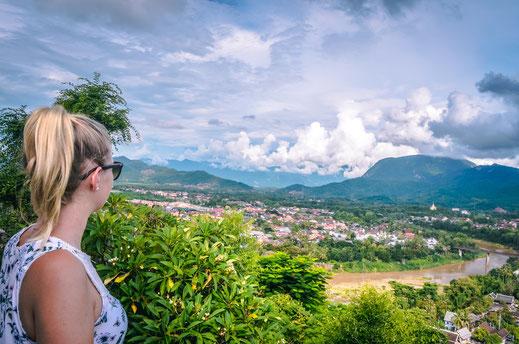 Viewpoint Mount Phou Si Luang Prabang