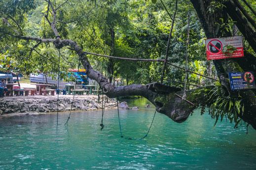 Blue Lagoon 1 Vang Vieng Loop