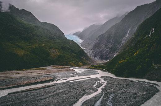 Franz Josef Gletscher Neuseeland