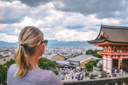 Kiyomiza-dera Tempel Kyoto