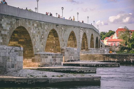 Steinere Brücke in Regensburg