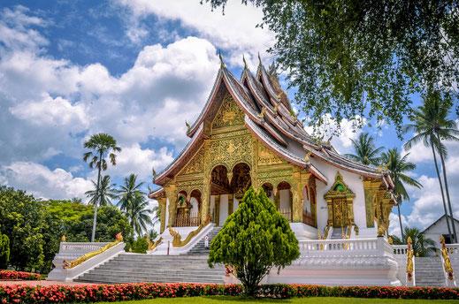 Königspalast Ho Kham Luang Prabang