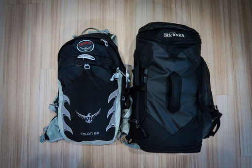 Rucksack Weltreise Packliste