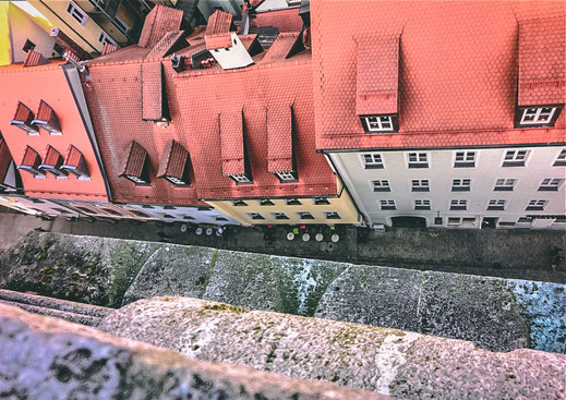 Romantische Gässchen in Regensburg