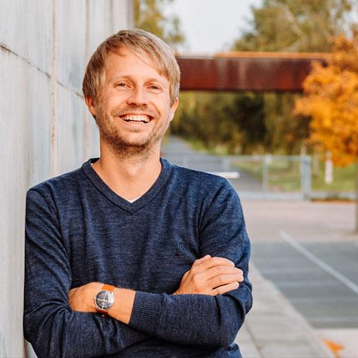 Oliver Mösing in der Unternehmensberatung für den Mittelstand