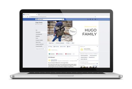 Die Hugo Family Facebook Gruppe für alle Anna und Oskar Fans