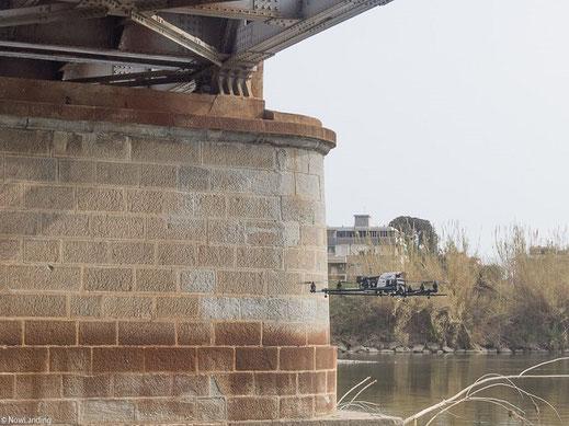 controllo strutturale viadotti con drone