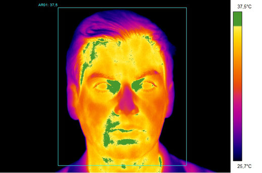 Covid-19, Temperature scanner, Termoscanner,