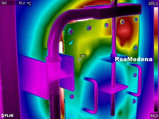 termografia paratie forni