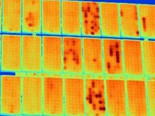 termografia aerea impianti fotovoltaici
