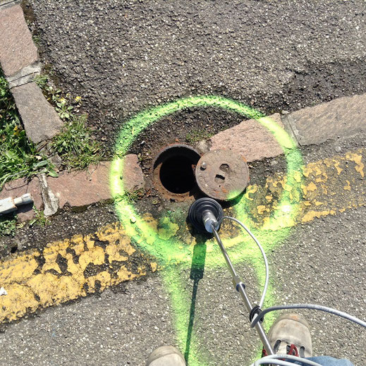 ricerca perdite con gas tracciante e geofono modena