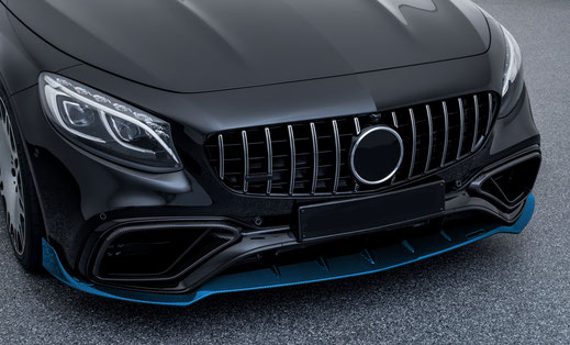 тюнинг brabus s63 amg coupe c217 restyling