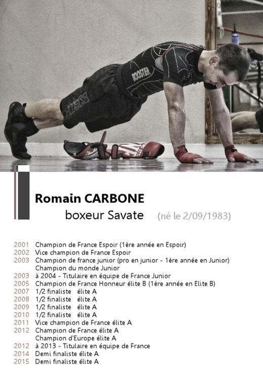 Romain CARBONE Boxeur Savate Boxe Française