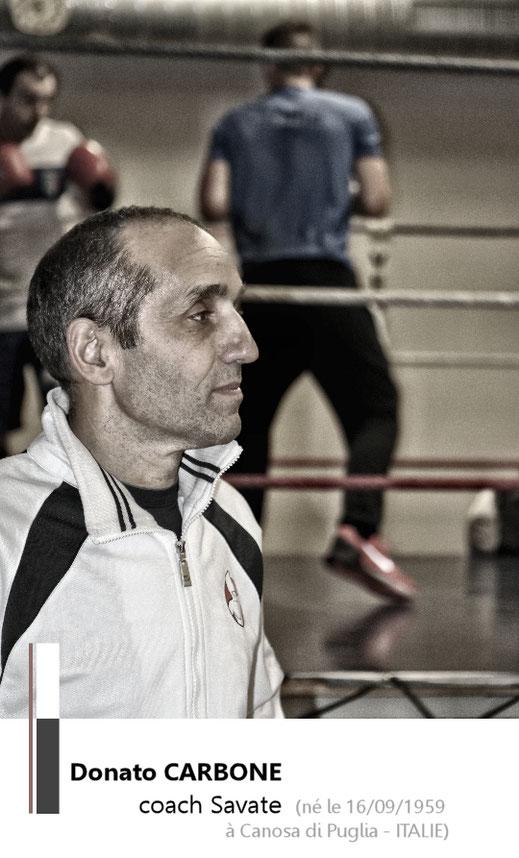 Donato CARBONE Père coach savate boxe française