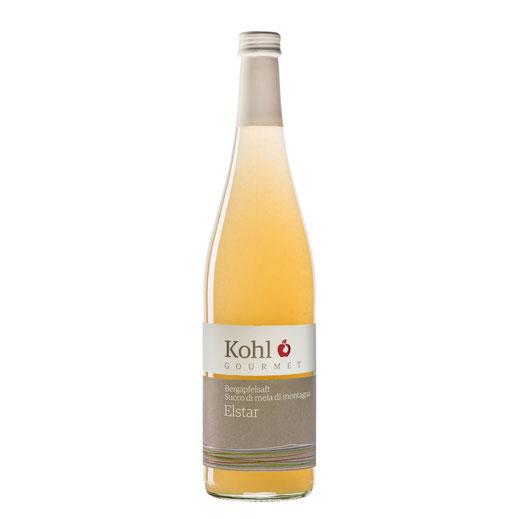 Kohl Bergapfelsaft Elstar sortenreiner Apfelsaft sortenreiner Saft Saftgourmet Gourmetsaft alkohlfreie Alternative