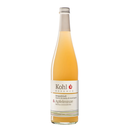 Kohl Bergapfelsaft Apfelsaft Minze Cuvée Gourmetsaft Saftgourmet alkoholfreie Alternative