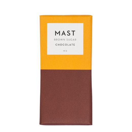 Mast Brothers Schokolade Brauner Zucker Schokolade Brown Sugar