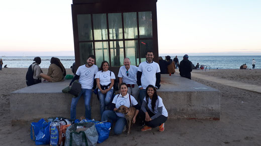 Beach Clean Up Barceloneta