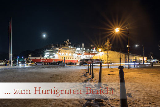 Hurtigruten Postschiff Erlebnis-Bericht - Von Tromsø nach Svolvær