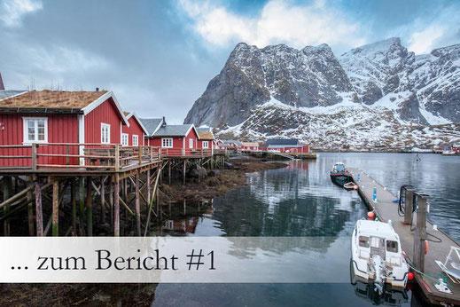 Lofoten im Winter Reisebericht Norwegen Reine Reiseplan Empfehlung