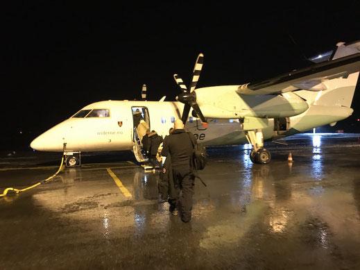 Inlandflüge in Norwegen: Per Flugzeug von Tromsö auf die Lofoten