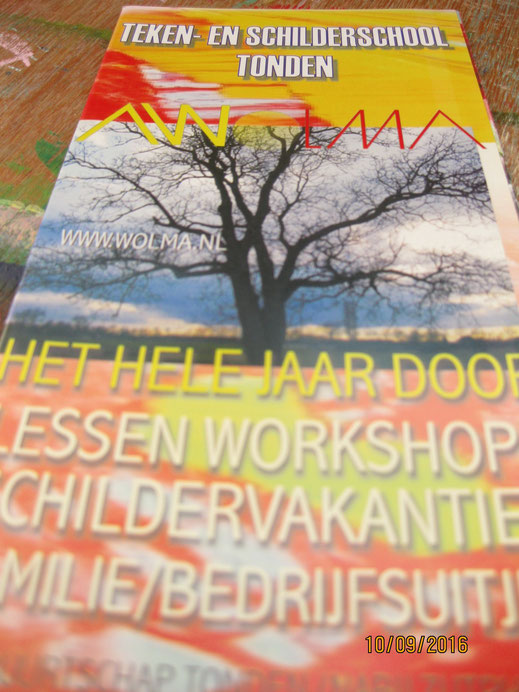 workshops schilderen voor jong en oud in stedendriehoek Zutphen-Deventer-Apeldoorn