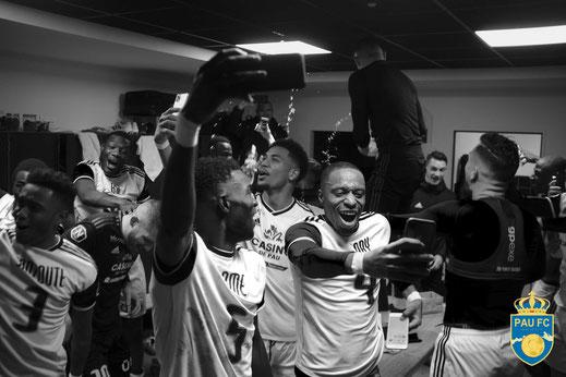 Pau FC - Montée en ligue 2