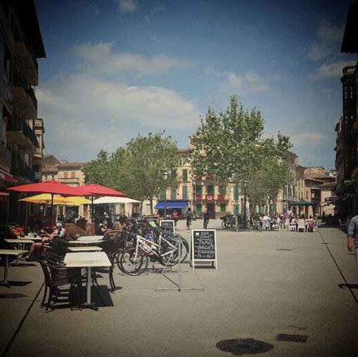 Marktplatz von Llucmajor Foto: Thomas Schildmann
