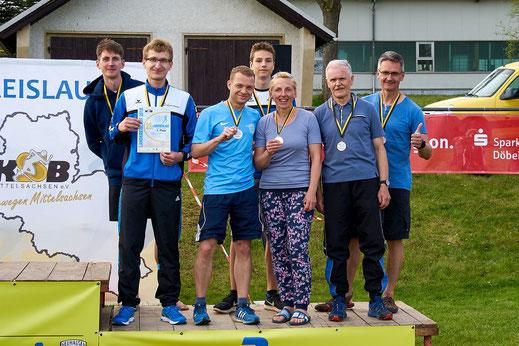 Beim diesjährigen Landkreislauf Mittelsachsen in Cämmerswalde erzielte unser Staffel Platz 3 in der Gästewertung.